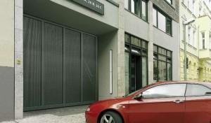 Puerta automática corredera de garaje