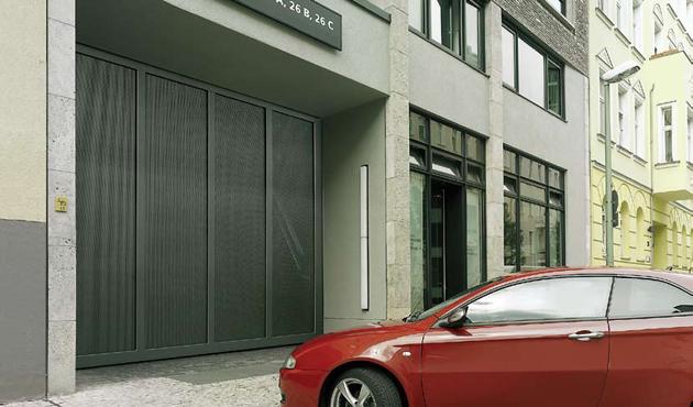 Puerta autom tica corredera de garaje grb automatics - Puerta de garaje automatica ...