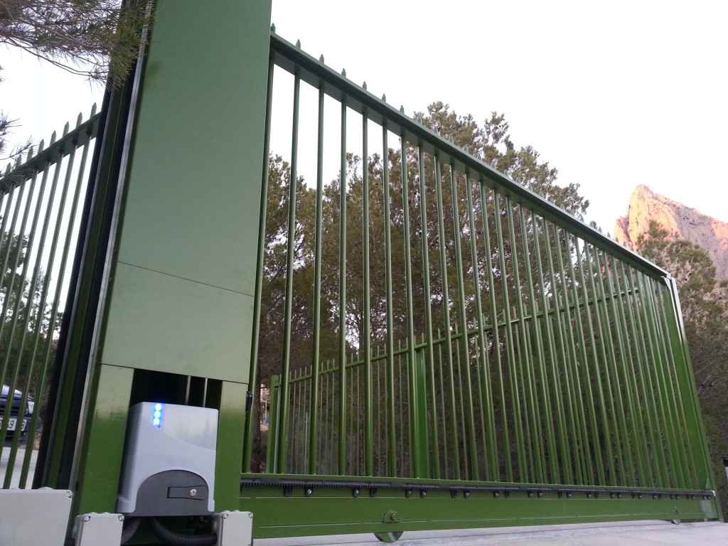 Instalación de Valla con Automatismo