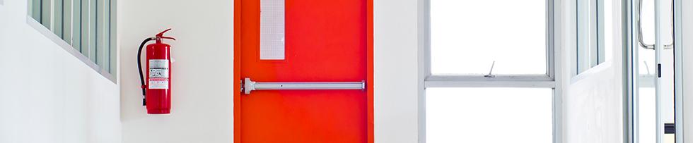 puerta cortafuegos batientes
