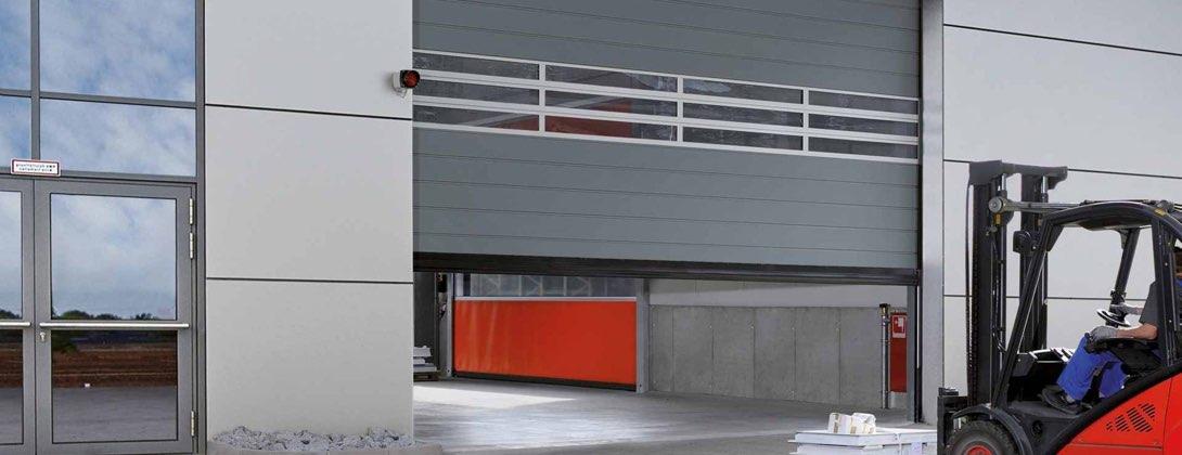 puertas industriales de apertura rápida