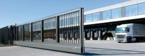 puertas correderas para la industria