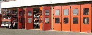 puertas industriales plegables