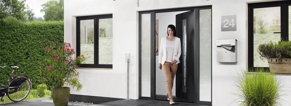 puerta de acceso a vivienda
