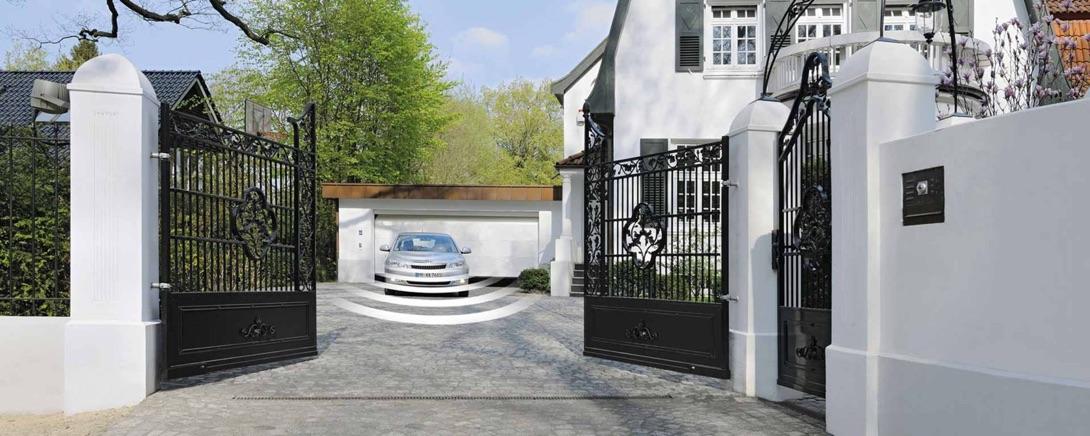 puertas batientes garaje